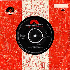 jimi hendrix collector singles vinyls/voodoo chile 1970 greece