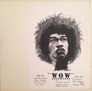 WOW/JIMI HENDRIX COLLECTOR ROTILY VINYLS
