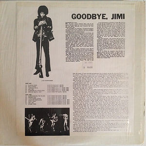 goodbye jimi/jimi rotily/collector jimi hendrix