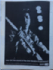 jimi hendrix magazines AD : sunn august 1968 crawdaddy