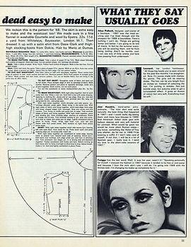 jimi hendrix magazines collector/ intro december 1967