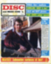 jimi hendrix newspaper/disc music echo /march 16 1968