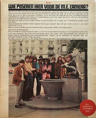 jimi hendrix magazines 1968  august muziek expres