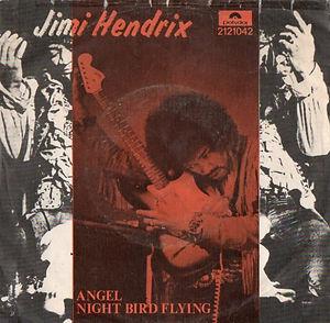 jimi hendrix vinyls singles/angel polydor portugal