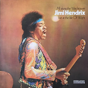 jimi hendrix album vinyl LPs/isle of wight australia  1975