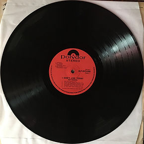 jimi hendrix collector  lp /  record 1 side 1 : i don't live today  2lp