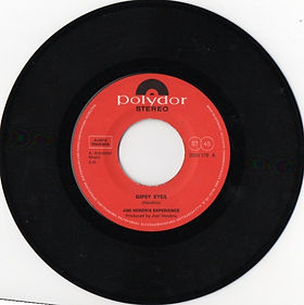 jimi hendrix collector vinyls singles/side1 gypsy eyes