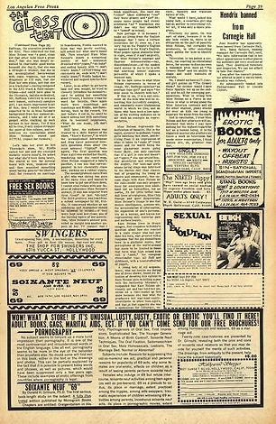 jii hendrixnewspaper 1968/los angeles free press november 29 - 5 december 1968/hendrix banned canegie hall