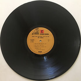 jimi hendrix vinyls 1973 /sound track recording from the film/japan side 1