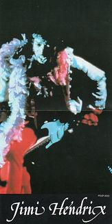 jimi hendrix cd album/band of gypsys 1991