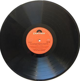 jimi hendrix vinyl album / side b :  smash hits  turkey
