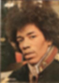 jimi hendrix rotily magazine/ ok 27/3/67
