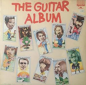 jimi hendrix vinyls LP collector / the guitar album 1977