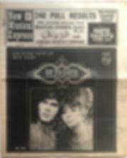 JIMI HENDRIX NEWSPAPER 1968/new musical express december 7 1968