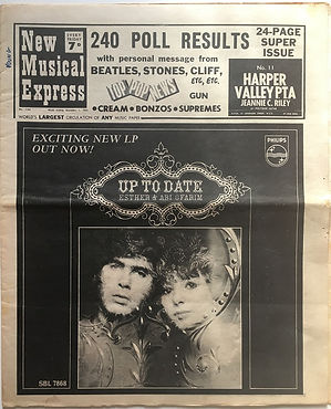 JIMI HENDRIX NEWSPAPER 1968/new musical express december 7 1968