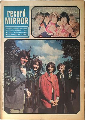 jimi hendrix collector newspaper/record mirror 21/10/1967