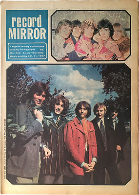 jimi hendrix collector newspaper/record mirror 21/10/1967