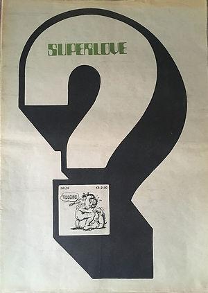 jimi hendrix newspapers 1970 / superlove n°38 :  november 30, 1970