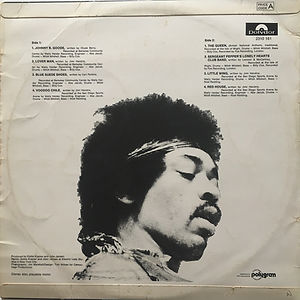 jimi hendrix vinyls 1972 / in the west polydor new, zealand 1972