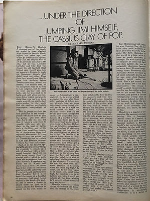 jimi hendrix magazine/eye july 1968/...under the direction of jumping jimi himself the cassius clay of pop