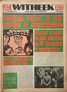 jimi hendrix newspaper collector/hit week n°12