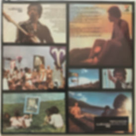 jimi hendrix vinyl album lp/rainbow bridge 1973 brazil