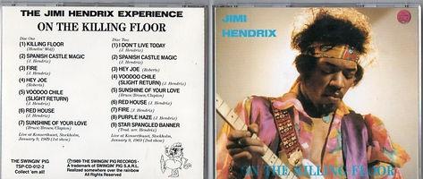 jimi hendrix bootleg 1969/on the killing floor   1989