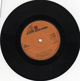 jimi hendrix singles vinyls/hear my train a'coming   1973 reprise records