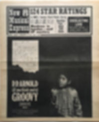 jimi hendrix newspaper/new musical express 6/1/67