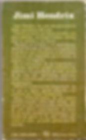 jimi hendrix book / jimi hendrix by jesus ordovas 1974 spanish