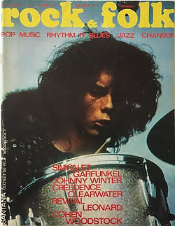 jimi hendrix magazines 1970 / rock & folk june 1970