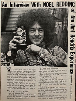 jimi hendrix magazine 1968/hullabaloo december 1968