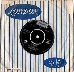 jimi hendrix collector singles vinyls 7/45t/ hush now london england 1967