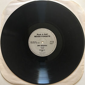jim hendrix vinyls radio show /rock & roll never forgets 1983 /hour 3 / side 9