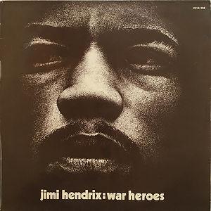 jimi hendrix vinyls  collector/ war heroes 1972
