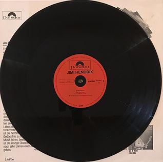 jimi hendrix singles maxi vinyl / side 1: gloria  1980