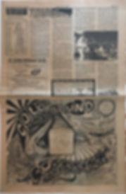 jimi hendrix newspaper/los angeles free press 20/9/68