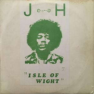 jimi hendrix bootlegs vinyls 1970 / j-h isle of wight