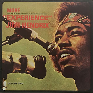 jimi hendrix vinyls reissue /  more experience bulldog 1985