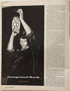 jimi hendrix magazine/jazz & pop july 1968