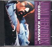 jimi hendrix bootlegs cd / good karma