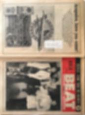 jimi hendrix collector newspapers/beat23/9/1967