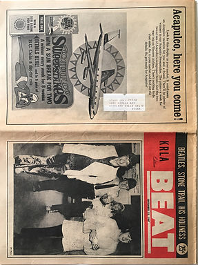 jimi hendrix collector newspapers/beat23/9/1967
