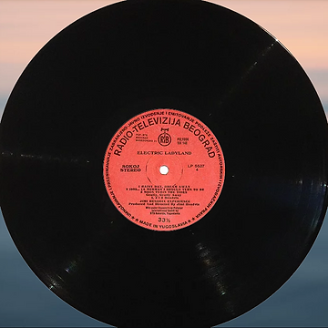 jimi hendrix vinyl album / side 4 electric ladyland  yougoslavia