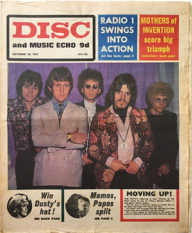 jimi hendrix collector newspapers/disc music echo/30/9/1967