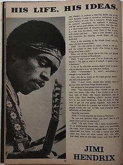 jimi hendrix magazines 1969/rock spectacular 1969