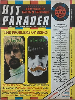 jimi hendrix magazine /hit parader september 1968