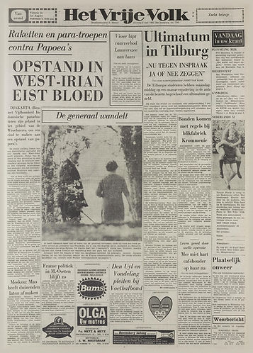 jimi hendrix magaines 1969/het vrije volk may 6, 1969