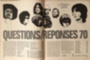 jimi hendrix magazines 1970 / rock & folk april 1970