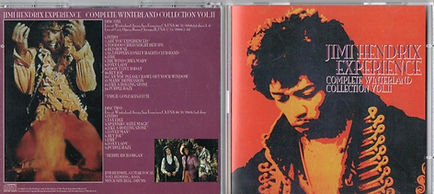 jimi hendrix bootlegs cd/complete winterland collection vol2/ 2cd